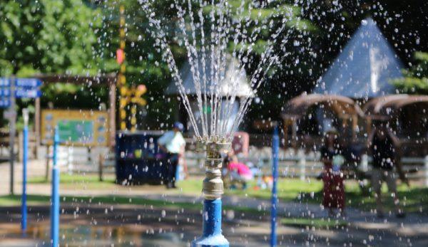わんぱく水遊び広場